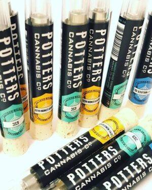 Potter Cannabis Vape Cartridges