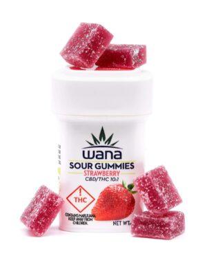 Strawberry Margarita Wana Gummies