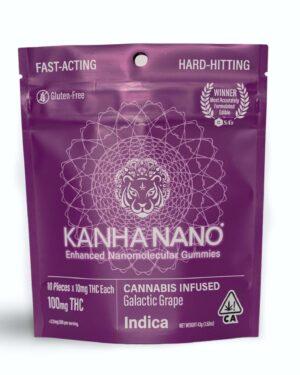 Kanha Nano Gummies Galactic Grape