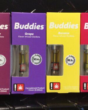 Buddies Exotic Vape Cartridges