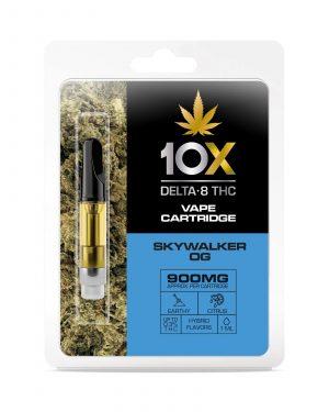 10X Delta-8 THC Cartridges UK