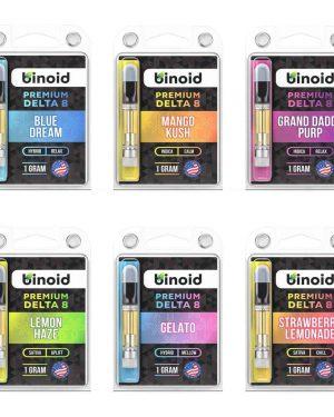 Binoid Delta-8 THC Cartridges UK